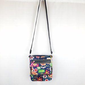 Lily Bloom bag floral flap top crossbody NWOT